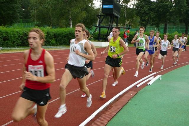 Чемпионат Москвы по легкой атлетике