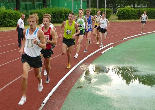 Чемпионат Москвы бег на 1500 метров