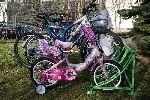 Велопарковка, подставка для велосипеда